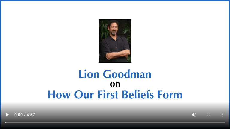 How Our First Beliefs Form